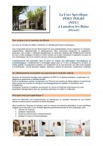 Cure Lamalou page 1
